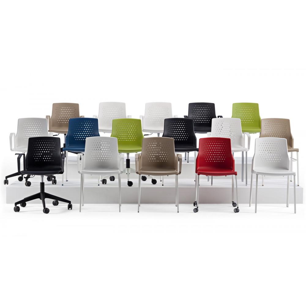 Comprar Sillas fijas para oficina online - Tienda de Mobiliario de ...